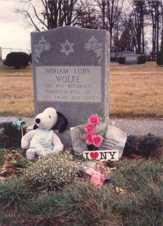 Miriam's Grave