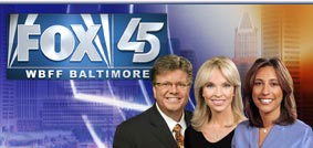Fox 45,WBFF-TV, Baltimore logo
